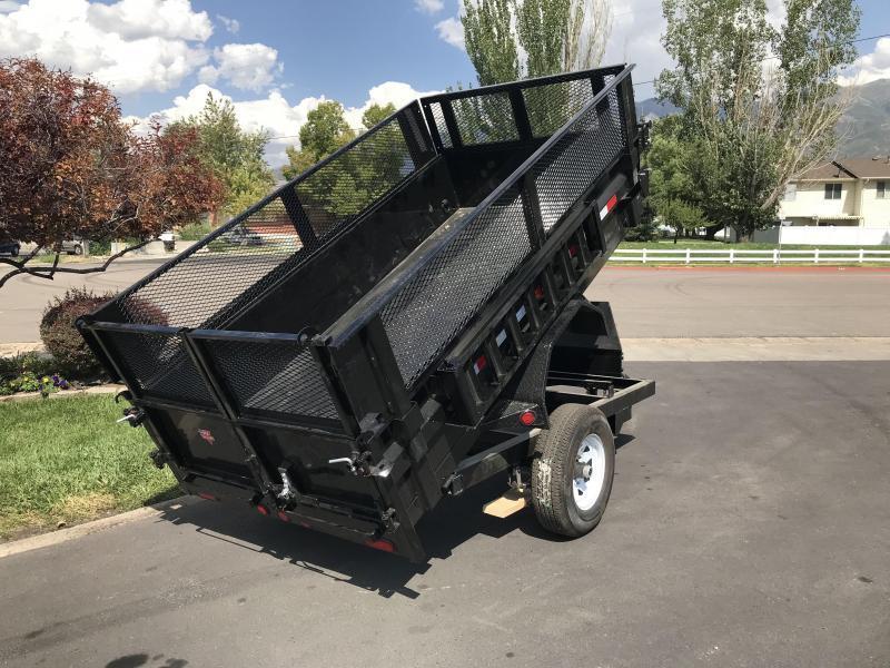 2019 PJ Trailers 5x10 Dump (D5) Dump Trailer