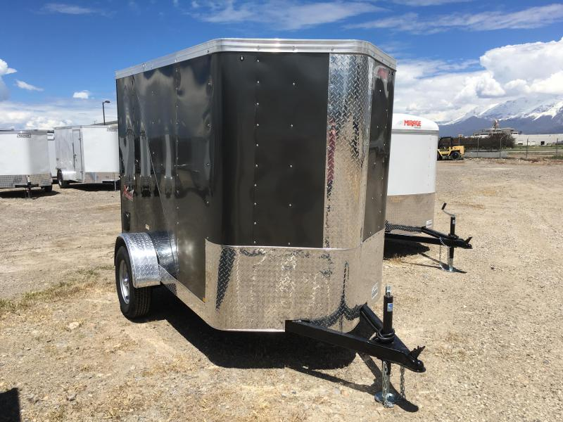 5x8 Charcoal & Black Mirage Trailers Xpres Cargo Trailer