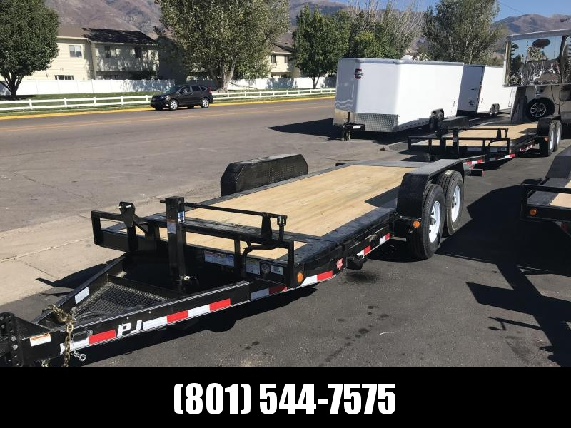 2019 PJ Trailers 18ft - HD Equipment Tilt 6 in. Channel (TJ) Equipment Trailer in UT