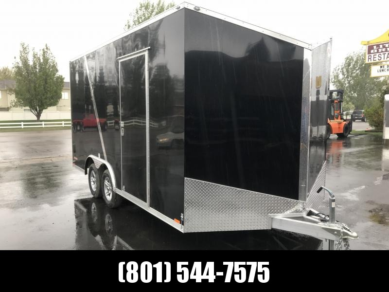 2019 Cargo Mate 8 x 16 Enclosed Cargo Trailer