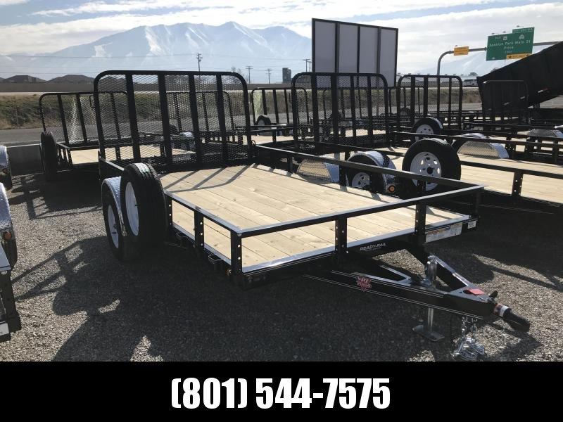 PJ 83x12 Single Axle Channel (U8) Utility Trailer