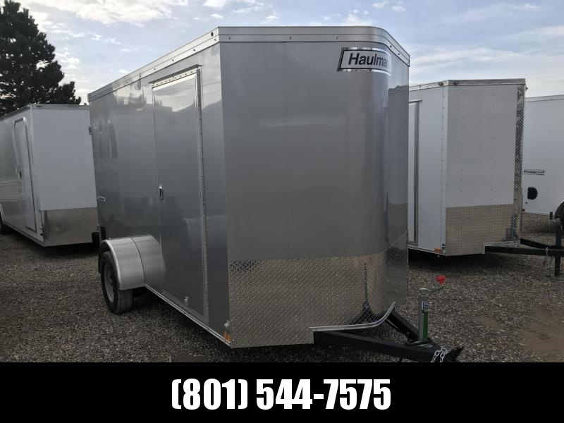 Haulmark Silver 6x12 Transport w Barn Doors Enclosed Cargo Trailer in UT