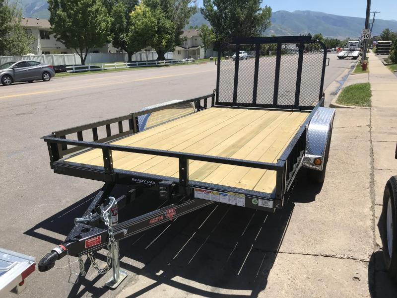 2019 PJ Trailers 14ft - 83 in. Tandem Axle Channel Utility (UL) Utility Trailer