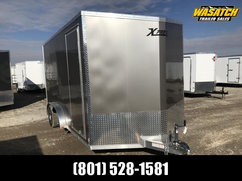 High Country 7.5x14 Xpress Enclosed Aluminum Cargo w V-nose