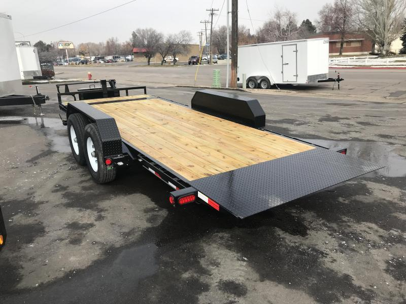 2019 PJ Trailers 20ft - 6 in. Channel Equipment Tilt (T6) Car / Racing Trailer