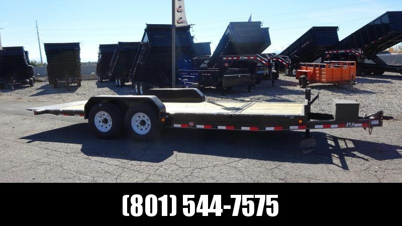 2018 PJ Trailers 20 Heavy Duty Tilt Equipment Trailer in UT