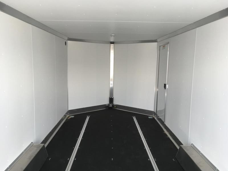 8x20 Silver High Country Xpress Cargo Trailer with Finished Interior
