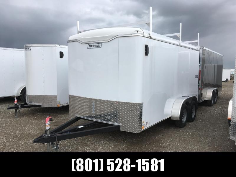 2019 7x14 Haulmark Transport Contractor Cargo Trailer