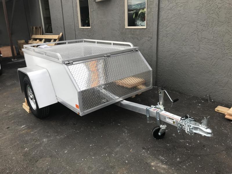 Aluma AE46 All-Purpose Enclosed Cargo Trailer