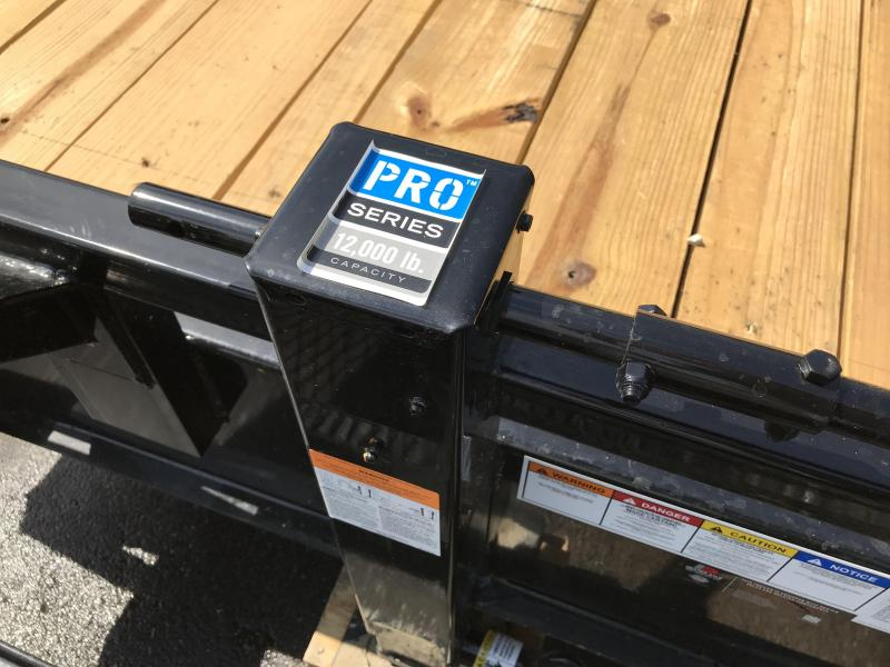PJ 18ft - 8 in. I-Beam Deckover (F8) Flatbed Trailer