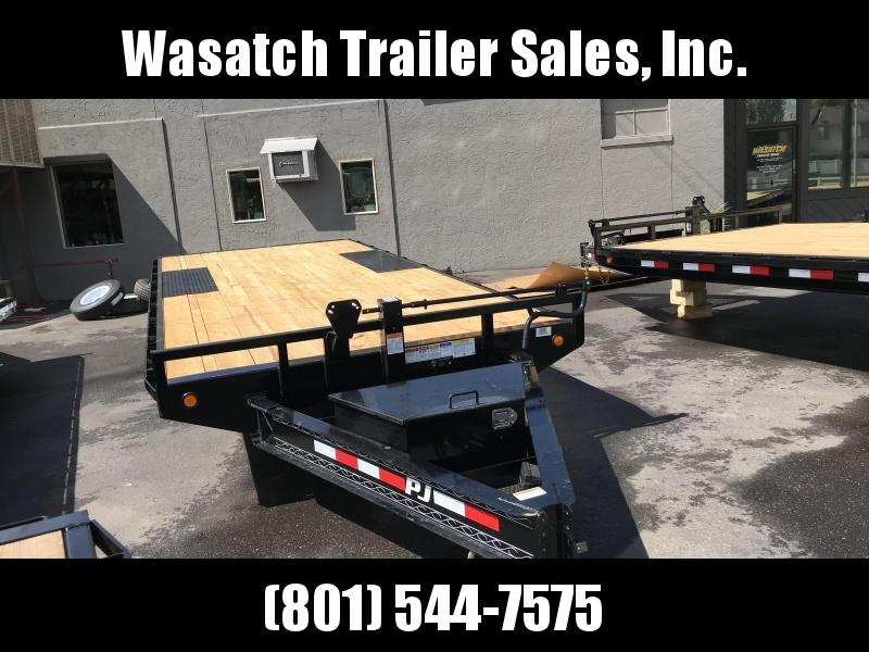 2019 PJ Trailers 18ft - 8 in. I-Beam Deckover (F8) Flatbed Trailer