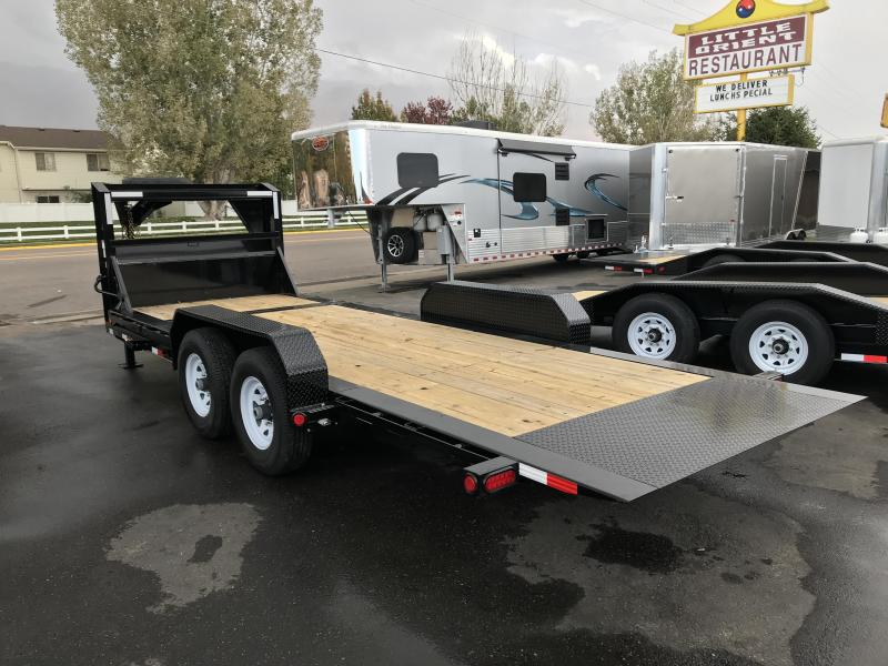 2019 PJ Trailers 20ft - HD Equipment Tilt 6 in. Channel (TJ) Equipment Trailer