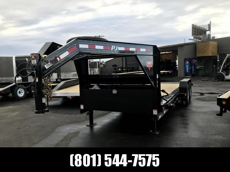 2019 PJ Trailers 20ft - HD Equipment Tilt 6 in. Channel (TJ) Equipment Trailer in UT