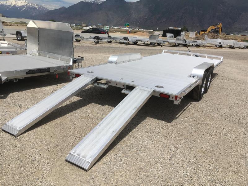 Aluma 8220HWB Wide Body Utility Trailer