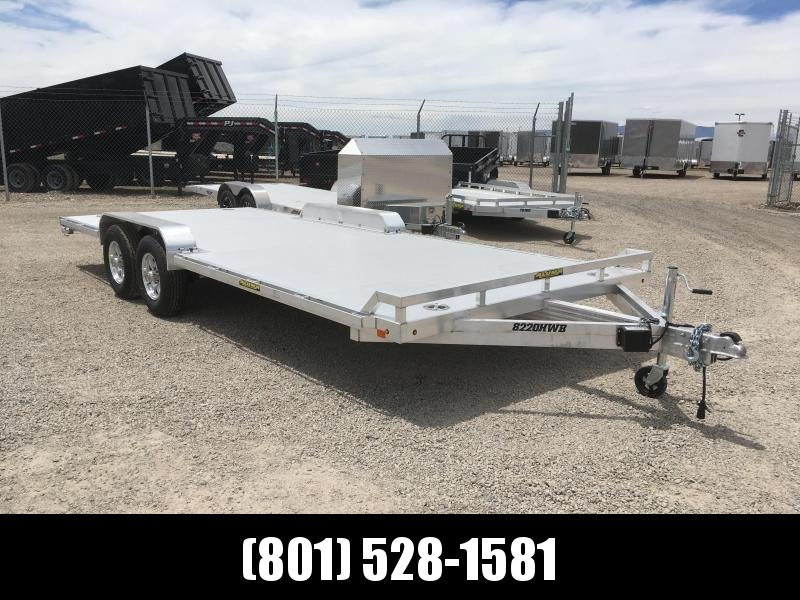 Aluma 8220HWB Wide Body Utility Trailer