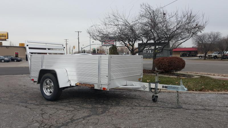 2018 Aluma 548 w 2ft Solid Sides Utility Trailer