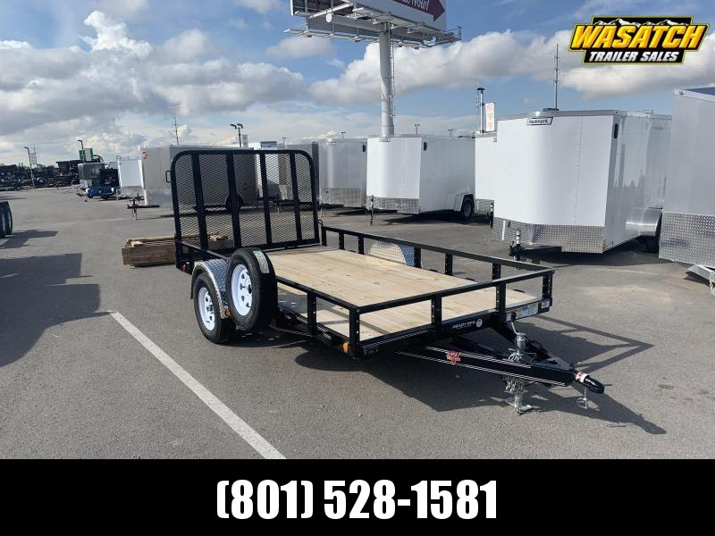 "PJ Trailers 77"" Single Axle Channel (U7) Utility Trailer"