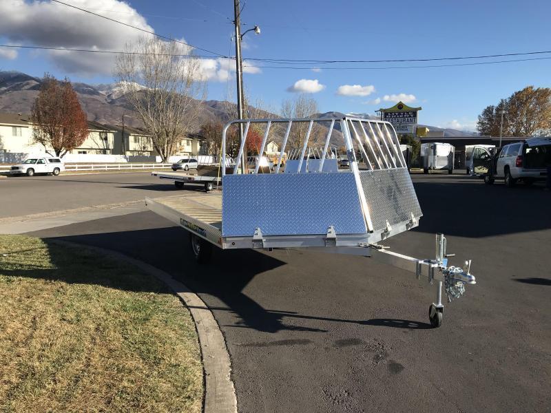 2018 Aluma 8612 Aluminum Tilt Snowmobile Trailer