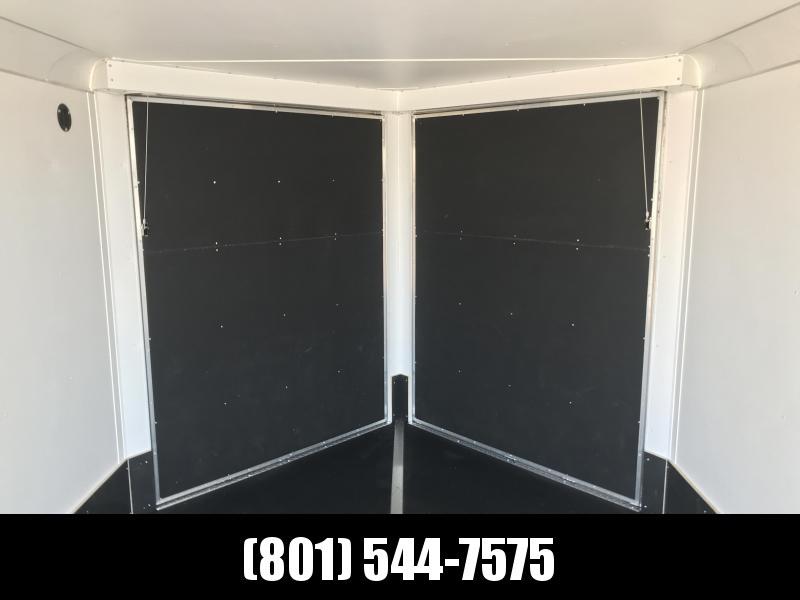 2019 Haulmark 8.5x12 Double Front Door Aluminum Snowmobile Trailer