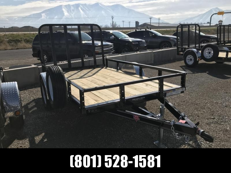 2019 PJ Trailers 72 in. Single Axle Channel Utility (U2) Utility Trailer