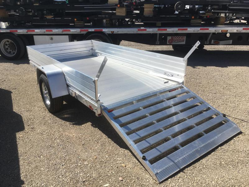 Aluma 6310H Utility Trailer with 12in. Solid Sides