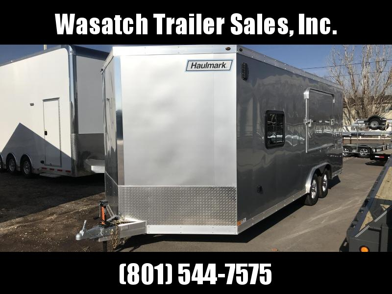 2019 Haulmark Aluminum Enclosed Cargo Trailer with Tent