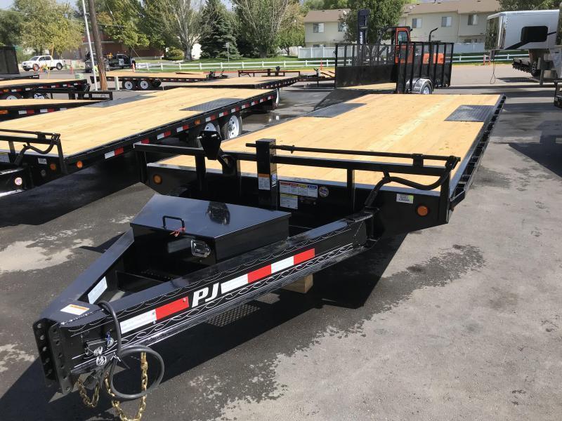 2019 PJ Trailers 20ft F8 Equipment Trailer