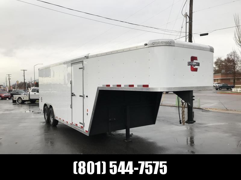 2019 Charmac Trailers 24ft Gooseneck Enclosed Cargo Trailer in Ashburn, VA