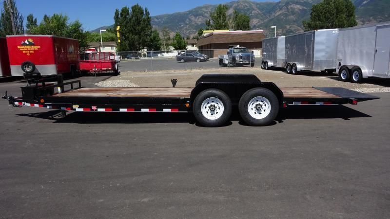 2019 PJ Trailers 22 Full Tilt Equipment Trailer