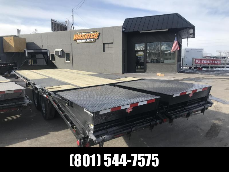 2019 PJ Trailers 30ft Low-Pro Flatdeck with Duals (LD) Flatbed Trailer