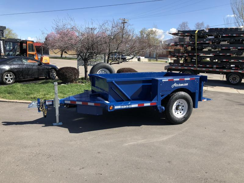 2018 Air Tow 8.5 x 7 Flatbed Trailer in Palmer, AK