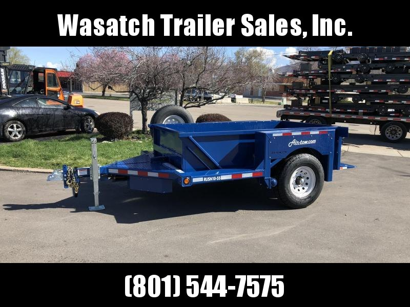 2018 Air Tow 8.5 x 7 Flatbed Trailer