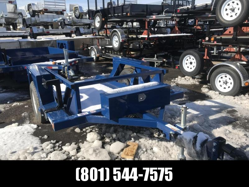 2018 Air Tow 8.5 x 7 Flatbed Trailer in UT
