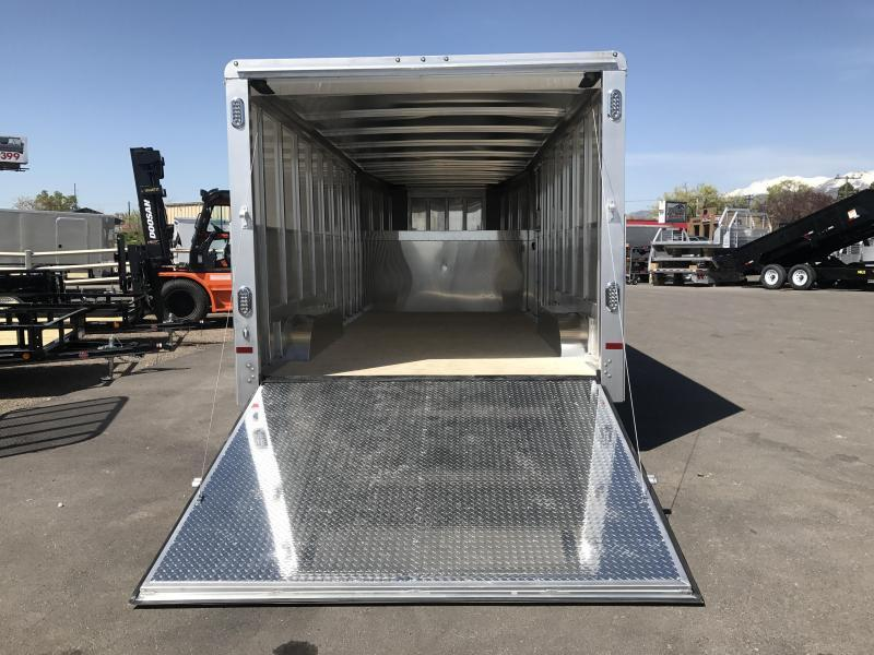 In The Shop At Wasatch Truck Equipment 2017 Sundowner Trailers 24 Enclosed Cargo Trailer ...