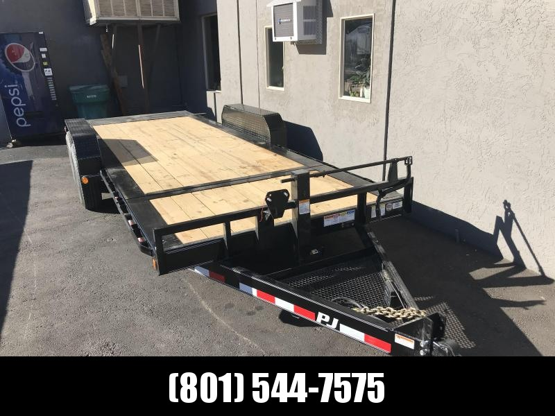 2019 PJ Trailers 24ft - HD Equipment Tilt 6 in. Channel (TJ) Equipment Trailer