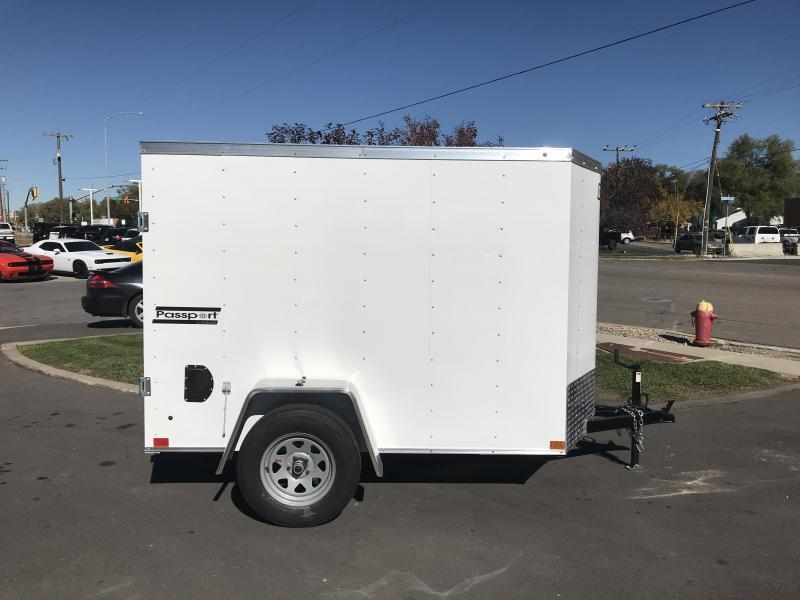 2018 Haulmark 5x8ft Passport w Door Enclosed Cargo Trailer