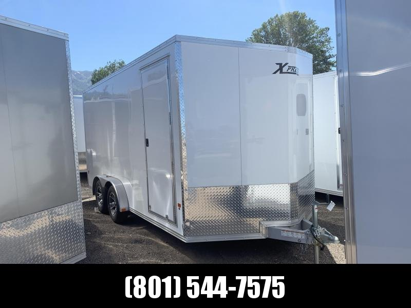 High Country Xpress White 7.5x16 Cargo with Ramp in Ashburn, VA