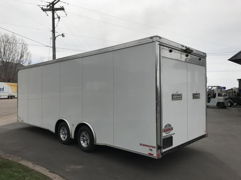 2018 Cargo Mate 8x24 Enclosed Cargo Trailer