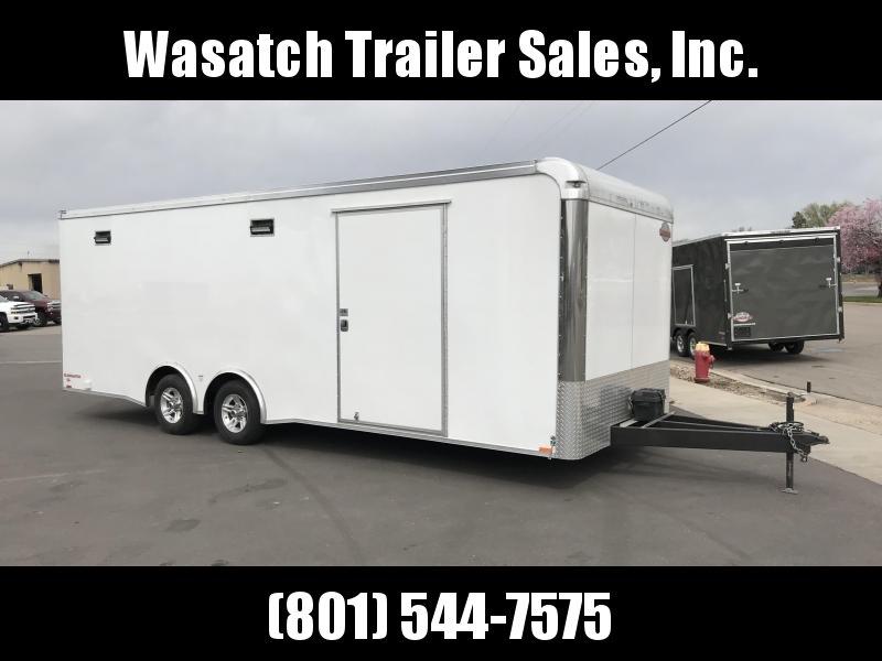 2018 Cargo Mate 8x24 Enclosed Cargo Trailer
