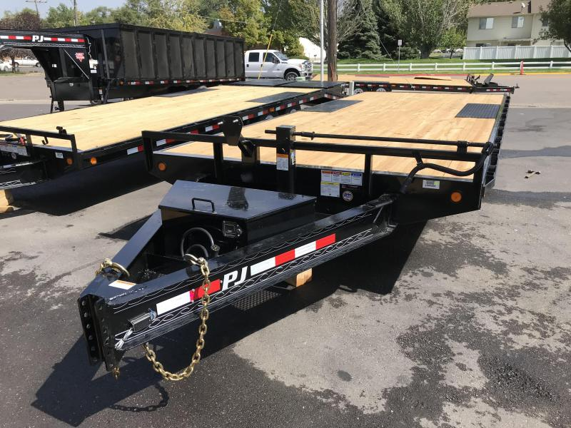 2019 PJ Trailers 8.5x20 F8 Equipment Trailer