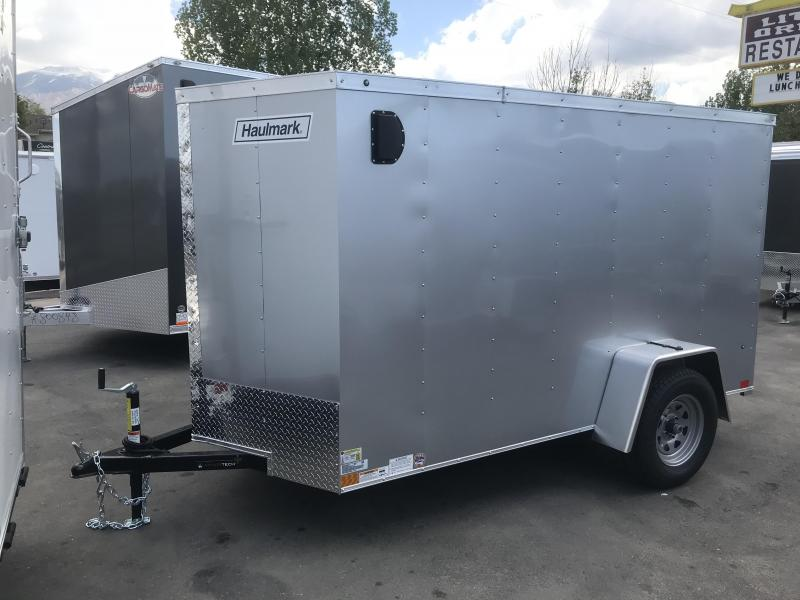 2018 Haulmark 5 x 10 Enclosed Cargo Trailer