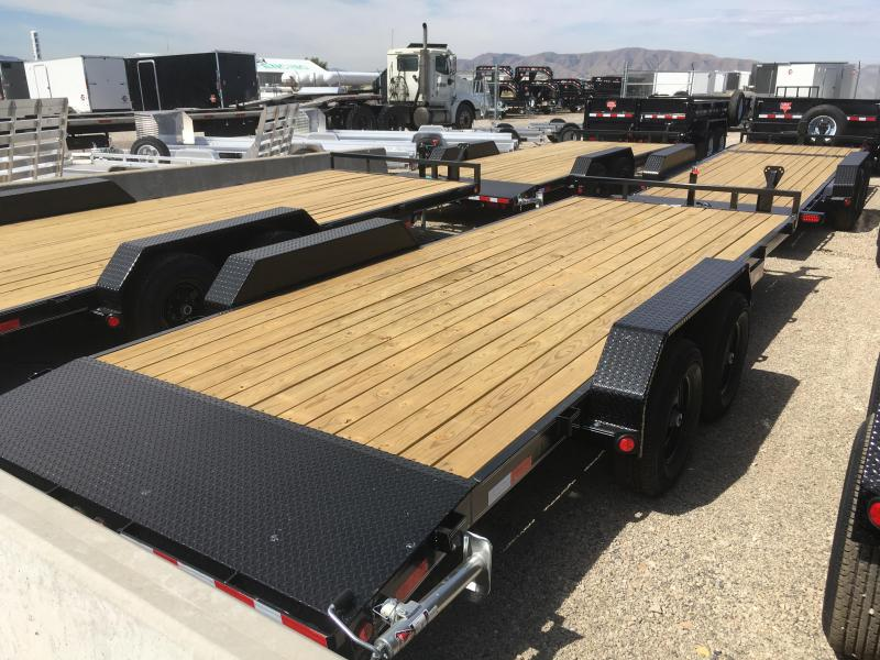 PJ Trailers 20 ft. - 5 in. Channel Equipment (CE) Trailer