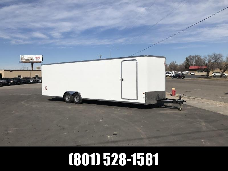 Charmac 100x28 White Stealth Car Hauler with Ramp in Ashburn, VA