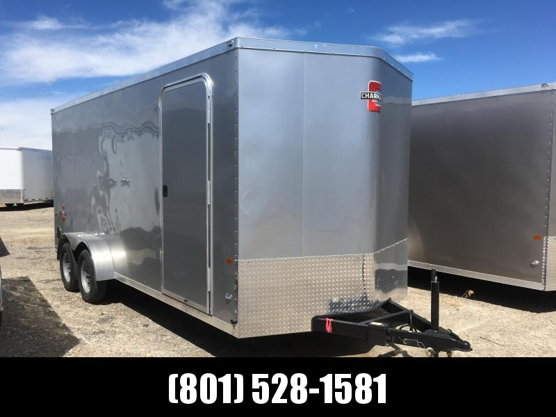 7x18 Silver Charmac Stealth Cargo Trailer in Ashburn, VA