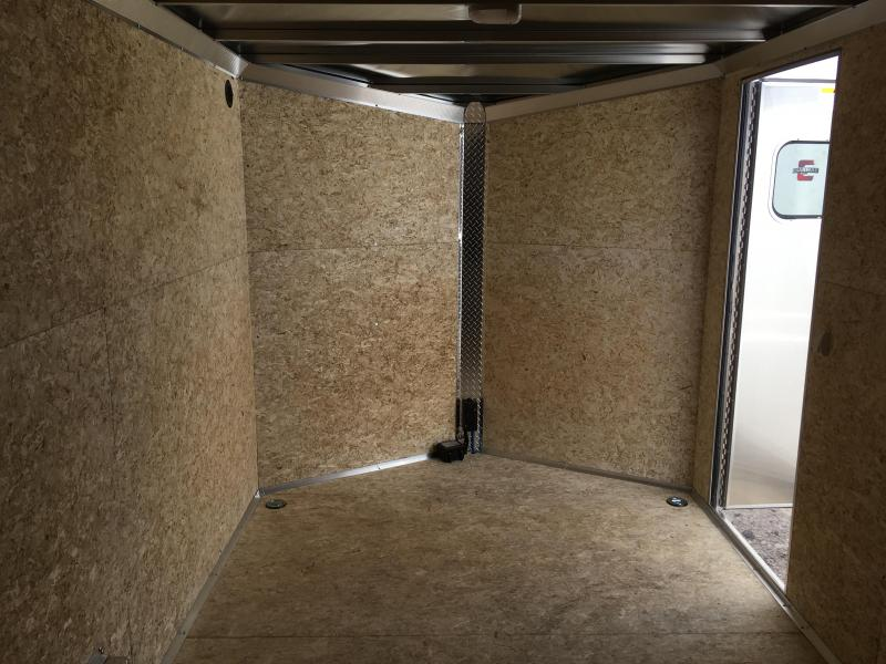 7.5x16 White High Country Xpress Cargo Trailer