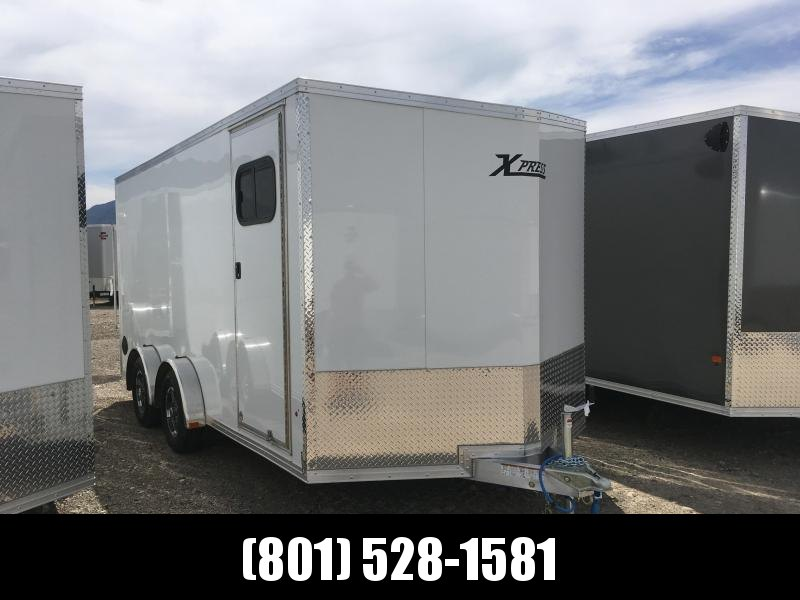 7.5x16 White High Country Xpress Cargo Trailer