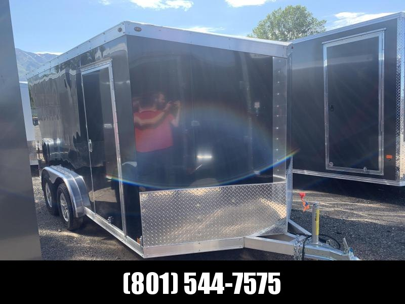 Haulmark 7.5x14 Black Motorcycle Trailer