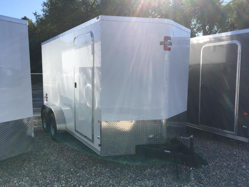 2020 Charmac Trailers 7x14 Stealth Enclosed Cargo Trailer with 5200b Axles