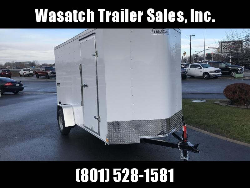 2019 Haulmark White 6x10 Passport Enclosed Cargo Trailer