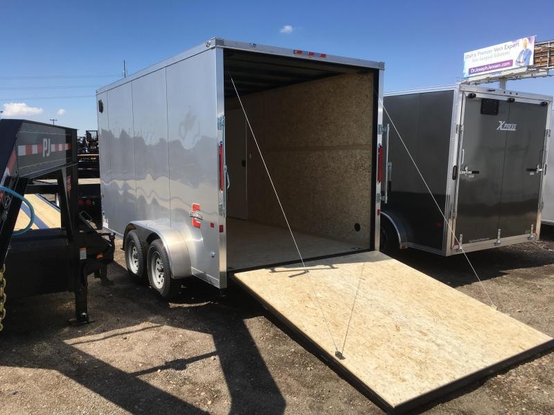 2020 Charmac Trailers 7x14 Stealth Enclosed Cargo Trailer with Stabilizer Jacks